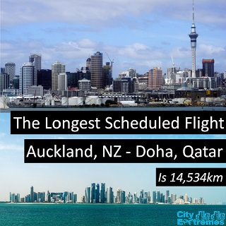 Auckland to Doha