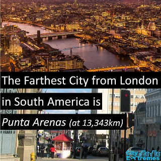 London to Punta Arenas