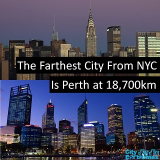 New York to Perth